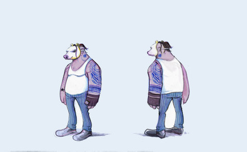 Masked Bully Character