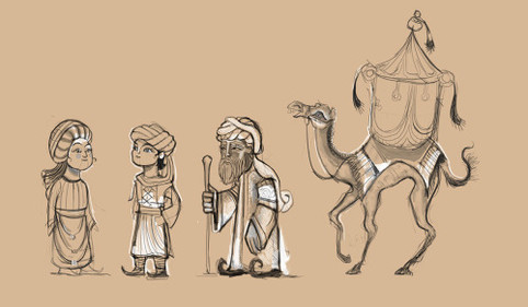 Kids Characters sketches