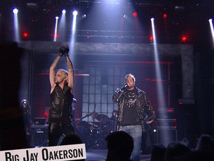 """Flashback - Big Jay Oakerson and Lukas Rossi rock out to Billy Idol's """"Rebel Yell"""" on The Comedy Jam"""