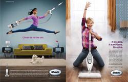 Shark Brand print ads