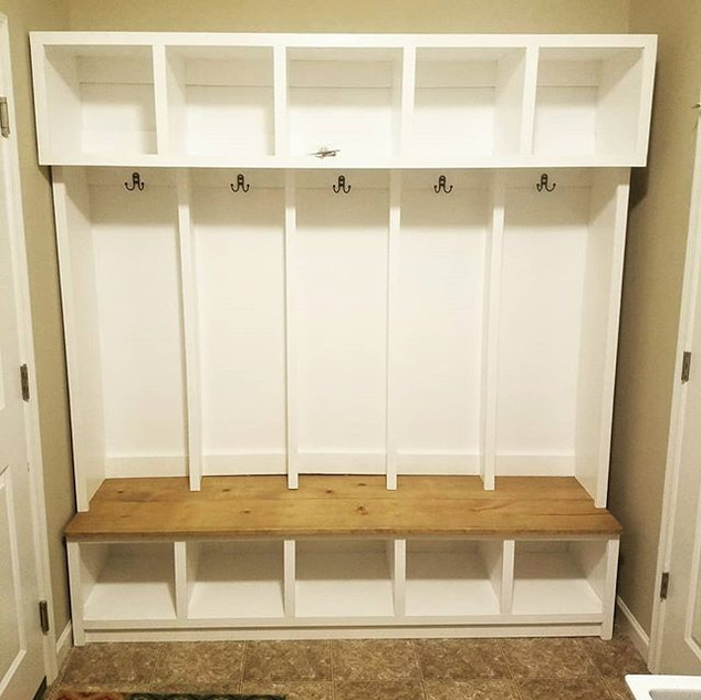 Hall tree organizer