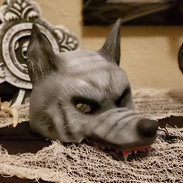 3d printed wolf mask