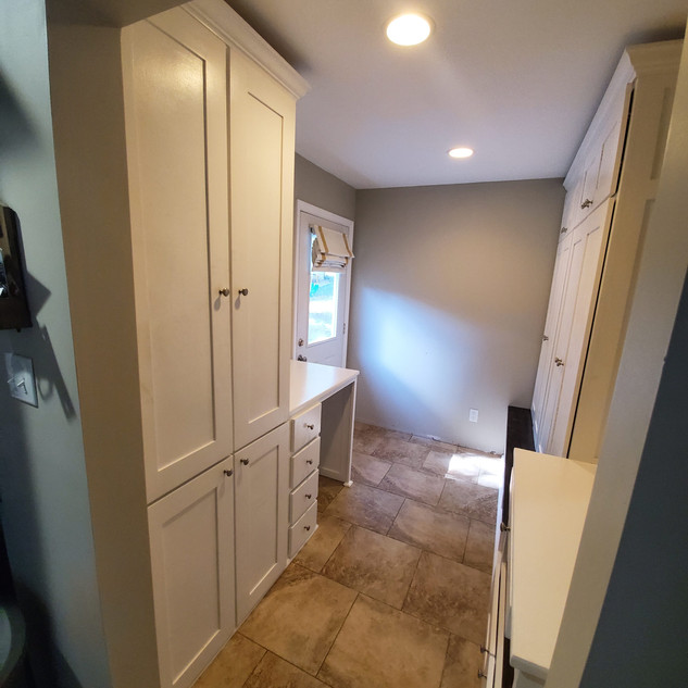 Mudroom build
