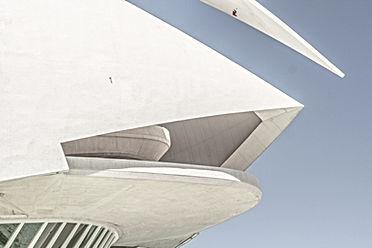 Estructura moderna blanca