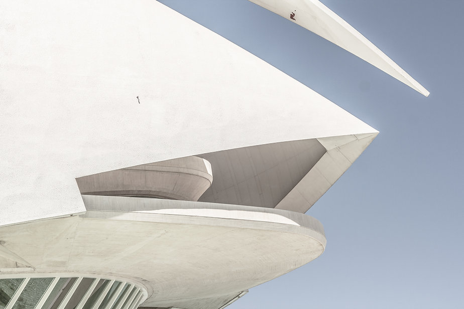 Moderne weiße Struktur