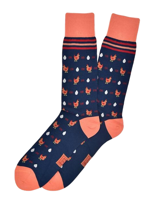 Which Came First Men's Socks