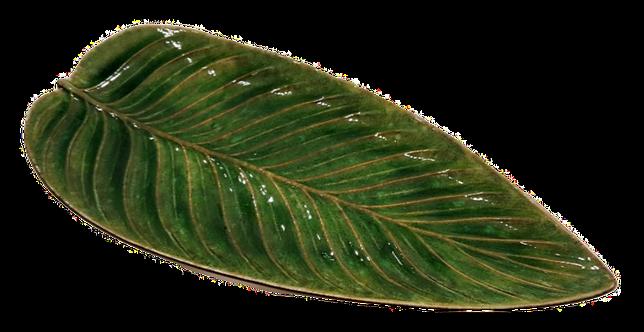 Strelizia Leaf Platter - Tomate