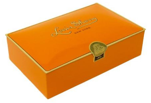Louis Sherry 12-Piece Assorted Chocolates - Tangerine Box