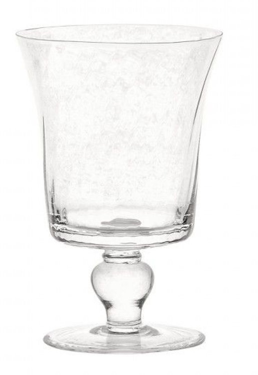 Espiral Footed Water or Red Wine Glass set of 6