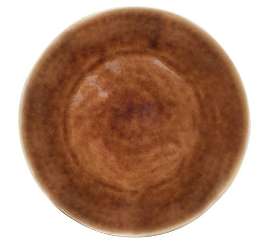 Riviera Dinner Plate - Light Brown - set of 4