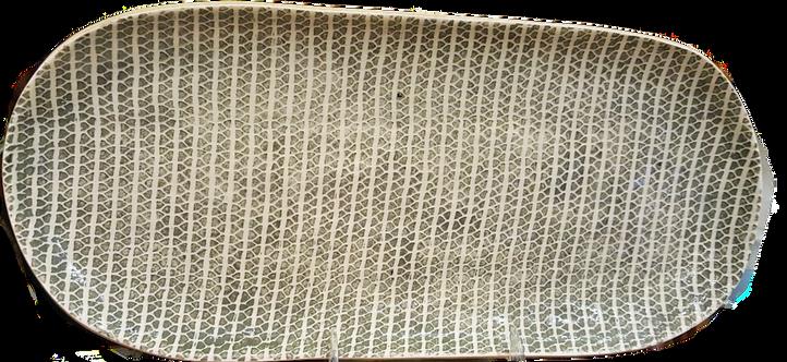 Terrafirma Ceramics Bread Tray Strata Charcoal