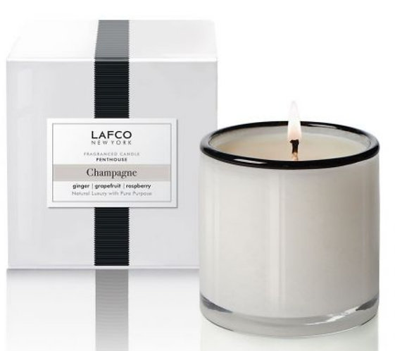 LAFCO Champagne Scented Signature Candle