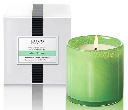 LAFCO Mint Tisane Scented Classic Candle