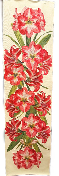 Amaryllis Tapestry Table Runner