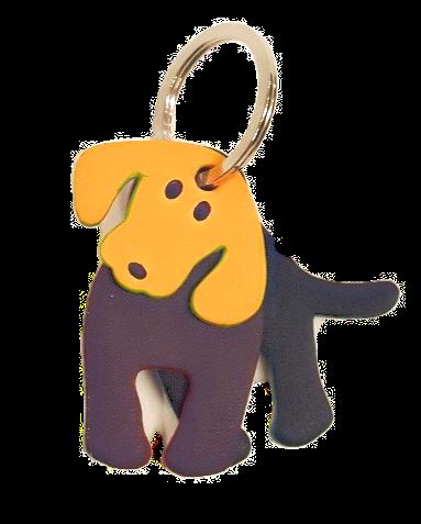 Leather Doggy Keychain