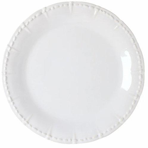 Historia Dinner Plate - Paperwhite - Set of 4