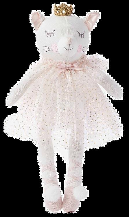 """Princess Kitty Baby Knit Doll - 15"""""""