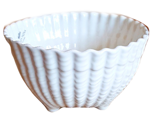 Footed Shell Bowl