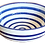 Thumbnail: Striped Cereal Bowl - Cobalt & White Stripe - Set of 4