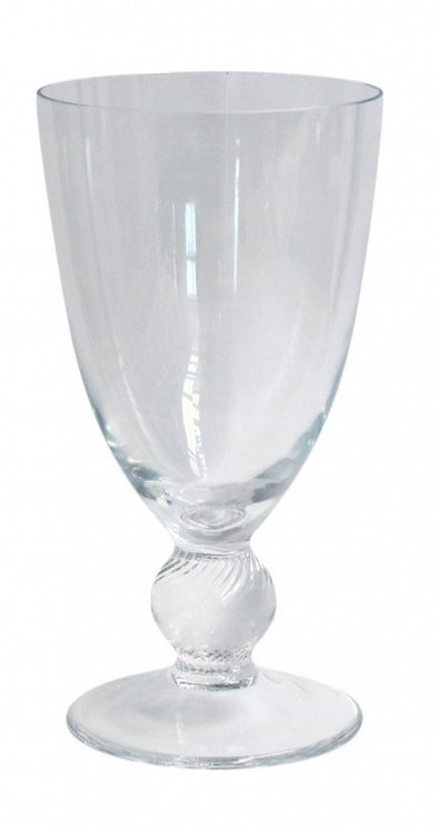 Hand-Blown Footed Goblets - set of 6