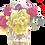 Thumbnail: Hydrangea, Rose, Peony Silk Flower Arrangement