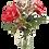 Thumbnail: Silk Flower Arrangement Rose & Lilac