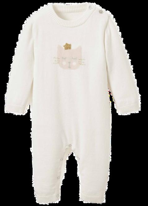 Princess Kitty Cotton Knit Jumpsuit