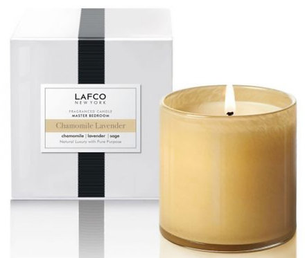 LAFCO Chamomile and Lavender Scented Signature Candle