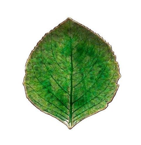 Riviera Hydrangea Leaf Plate - Tomate - Small