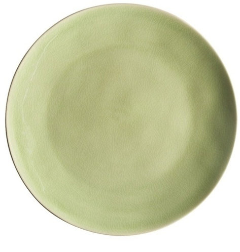 Riviera Dinner Plate - Light Green - set of 4
