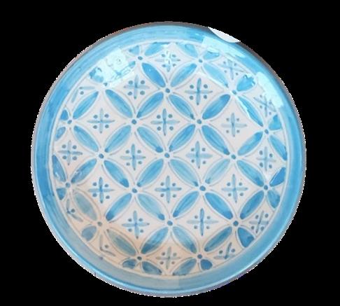 Aqua Fez Side Plate Set of 4