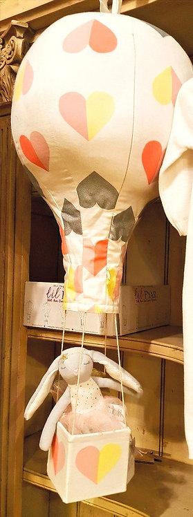 Hearts Hot Air Balloon Mobile