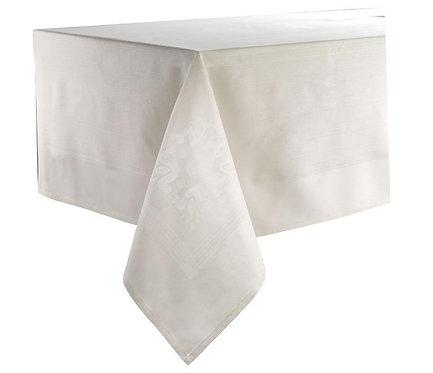 Villa Tablecloth Ivory - Cotton 63 x 120