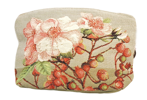French Tapestry Cosmetic Bag - Hawthorne
