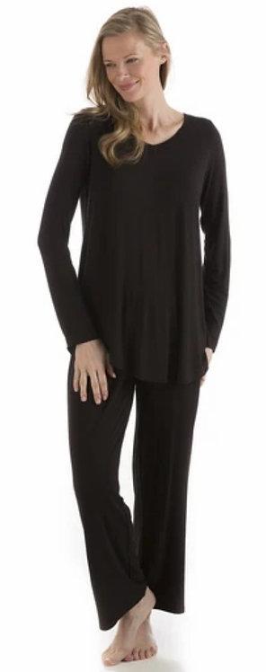 Norah Pajama Set Black