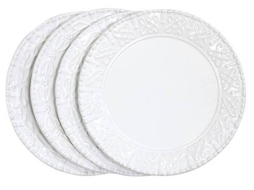 Historia Salad/Dessert Assortment - Set of 4 - Paperwhite