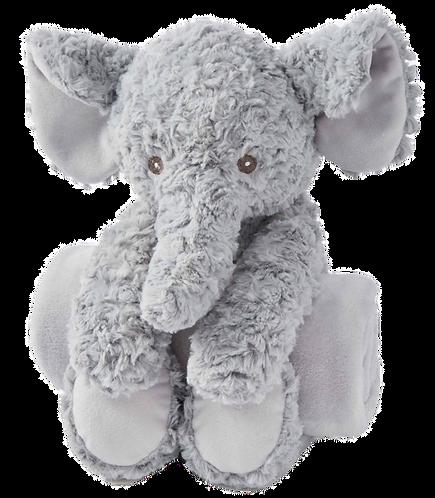 Swirl Elephant Bedtime Huggie Plush Toy