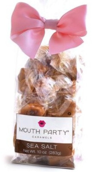 Mouth Party Sea Salt Caramels - Large Bag - 10 Ounces