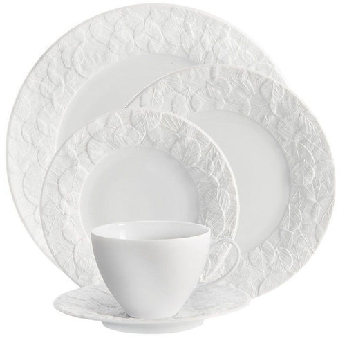 Forest Leaf 5-Piece Placesetting