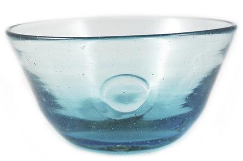 Small Aqua Eye Bowl - Set 4