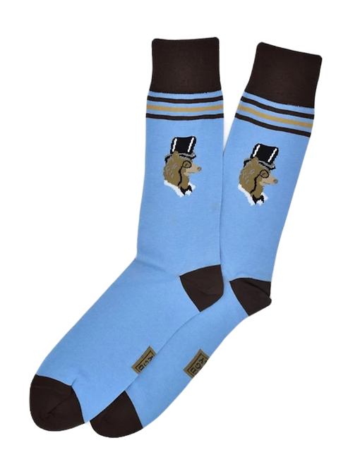 High Roller Bear Men's Socks