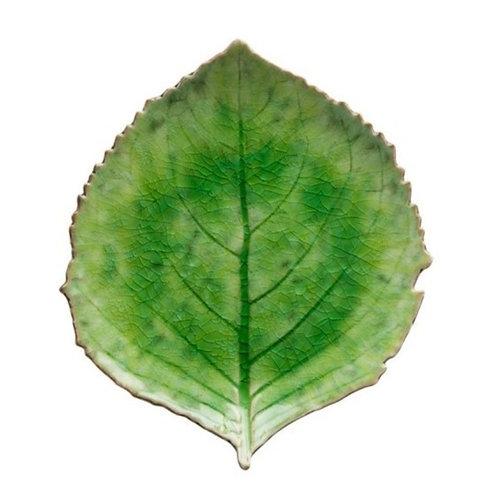 Riviera Hydrangea Leaf Plate - Tomate