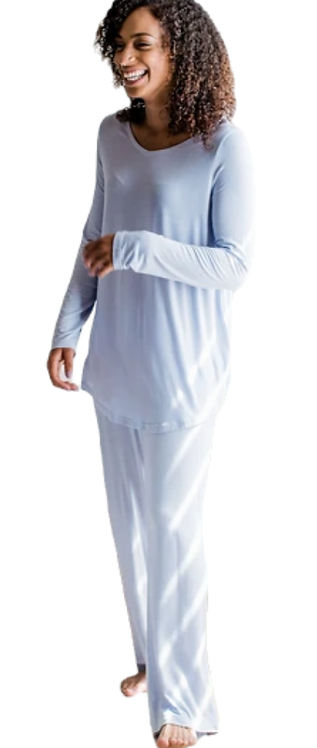 Norah Pajama Set Arctic Blue