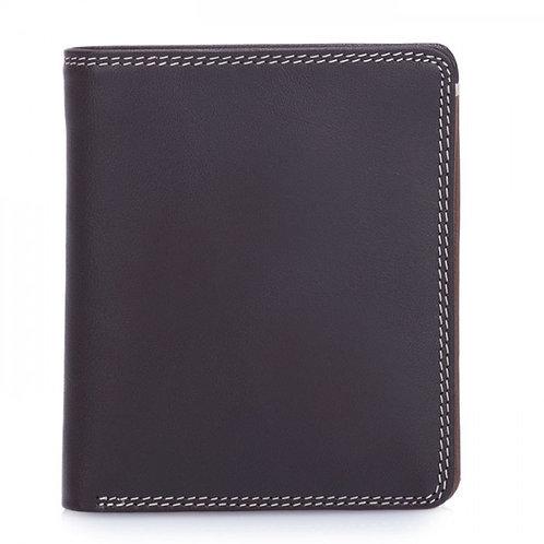 Men's Standard RFID Mocha Wallet with Contrasting Color Interior
