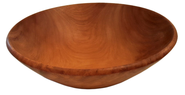 Mahogany Salad Bowl - Medium
