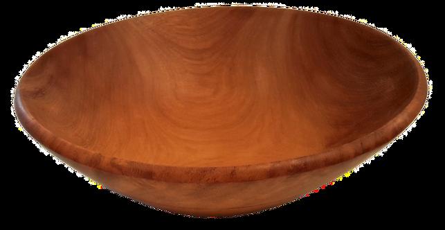 Mahogany Salad Bowl - Medium