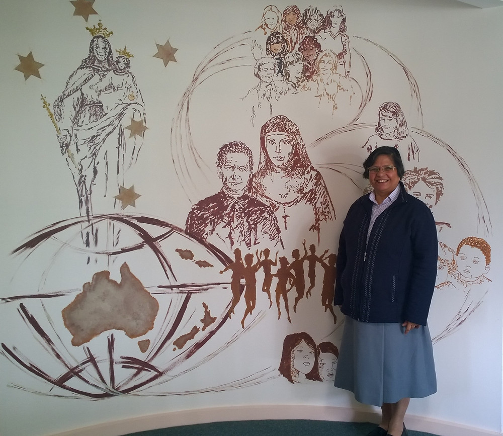 Sr. Lucy at SPR Province Centre