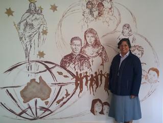 Welcome, Sr. Lucy Rose Ozhukuyil fma