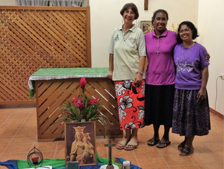 "Jesus said: ""Let's go elsewhere to the neighbouring country towns...the Salesian Sisters sa"