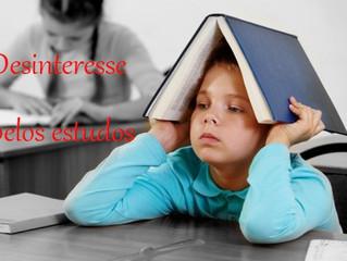 Desinteresse pelos Estudos